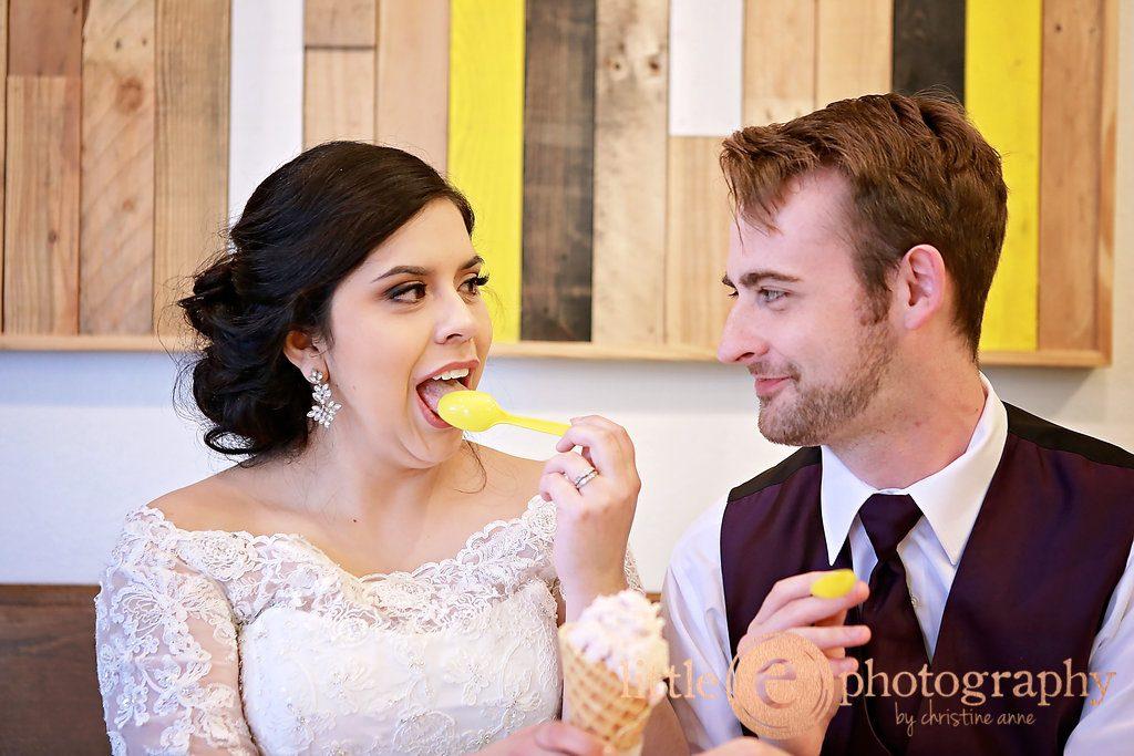 Cassandra and David Vaughan wedding, St. Ann's Catholic, Burleson, Texas, MELT Ice Cream, Marquis on Magnolia, Fort Worth