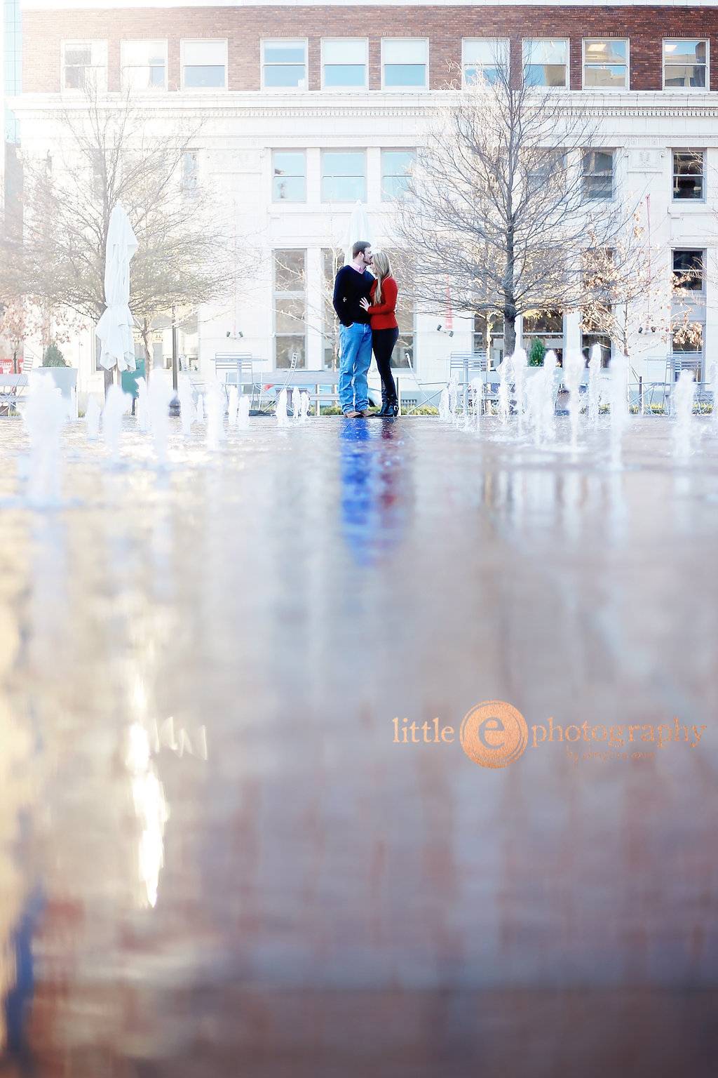 Sundance Square: Sweet Couple